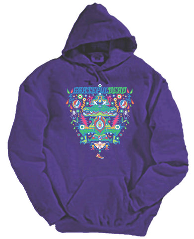 Alligator hooded sweatshirt