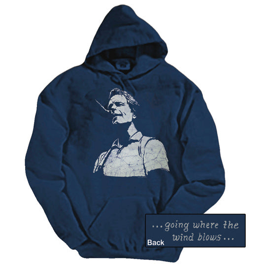 Bob Weir navy hooded sweatshirt