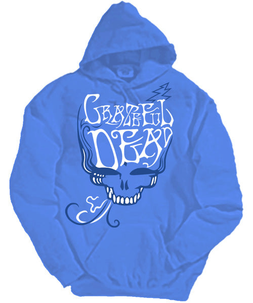 Blue Rose Smoke hooded sweatshirt