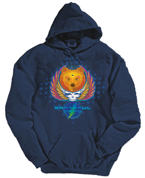 Bear Wings hooded sweatshirt