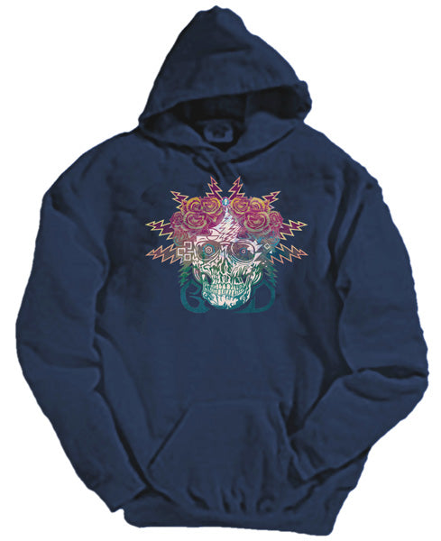 Electric Dimensions hooded sweatshirt