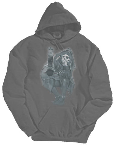 Jester charcoal hooded sweatshirt