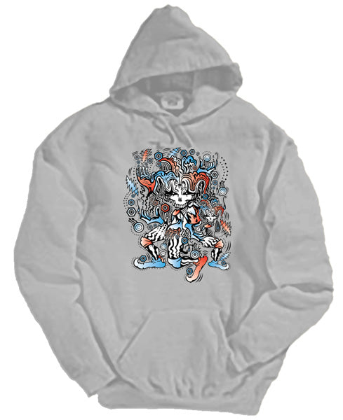 Liquid Circus hooded sweatshirt