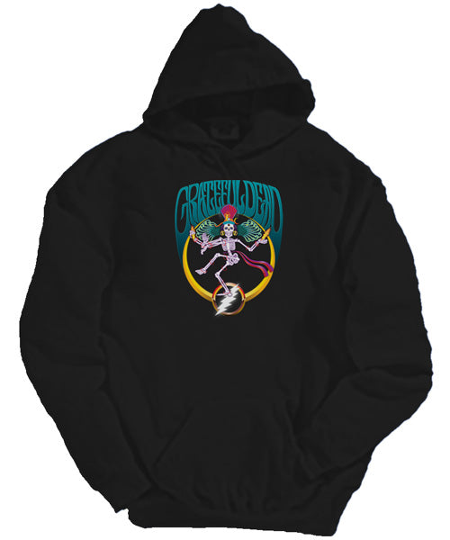 Shiva Crescent hooded sweatshirt