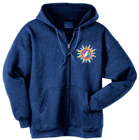 Sunshine Lightning zippered sweatshirt