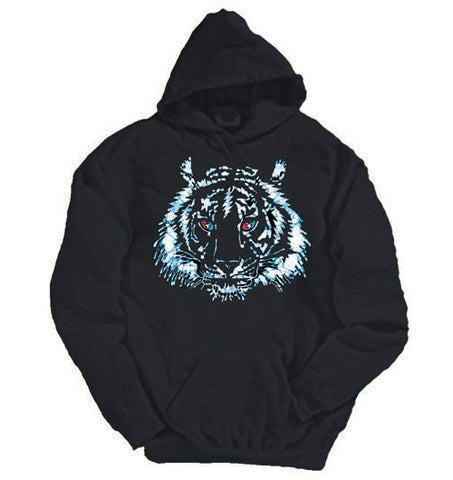 Tiger Bolt black hooded sweatshirt