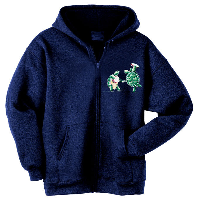 Batik Terrapins zippered sweatshirt