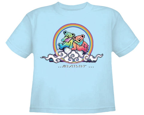 Smilin' light blue youth shirt