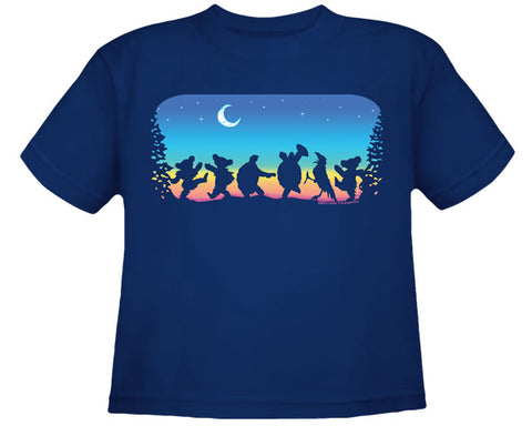Moondance navy youth shirt