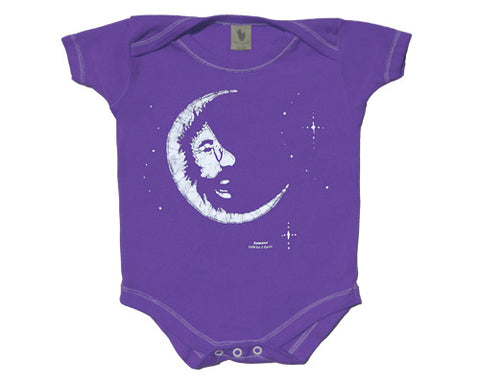 Jerry Moon grape onesie
