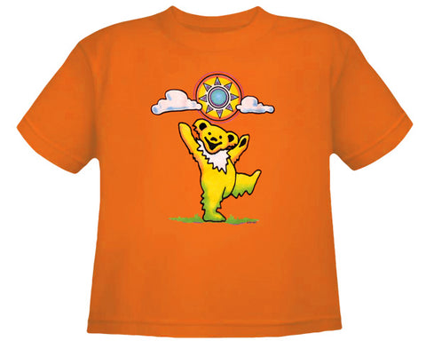 Sunny Bear orange youth shirt