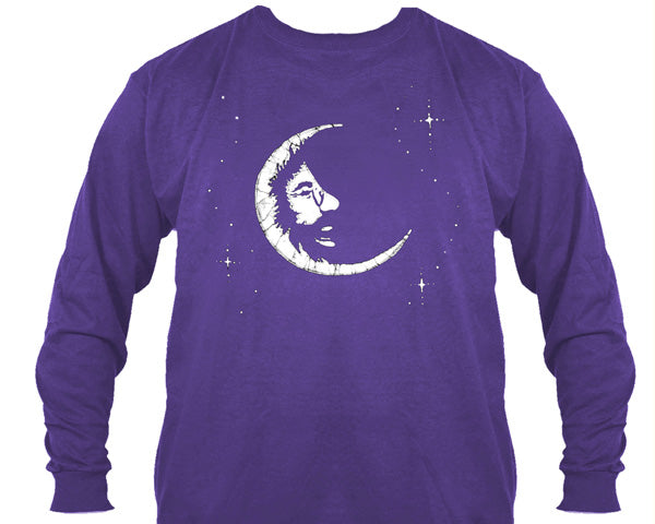 Jerry Moon purple long sleeve shirt