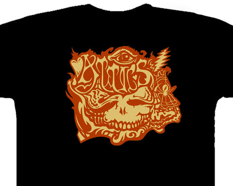 Attics black T-shirt
