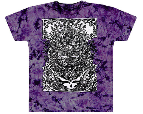 Aiko purple tie-dye T-shirt