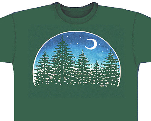 Night Forest green T-shirt