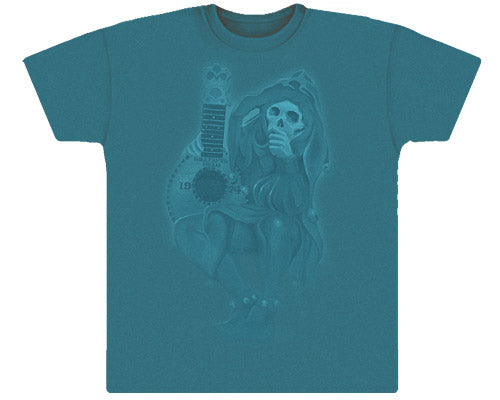 Grateful Dead Jester teal vintage T-shirt