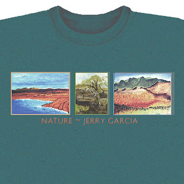 Nature Green Jerry Garcia T-Shirt