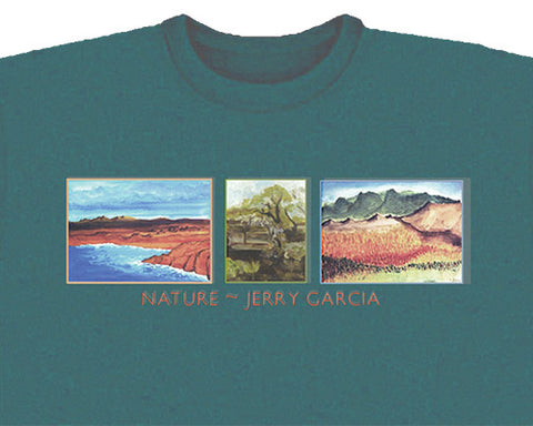Nature green T-shirt - M