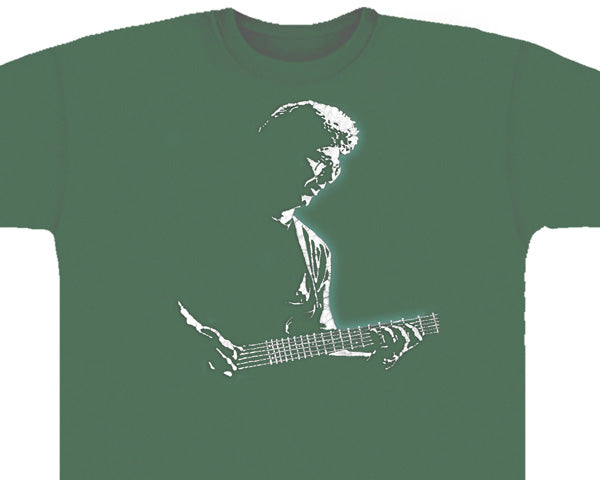 Phil Lesh green T-shirt