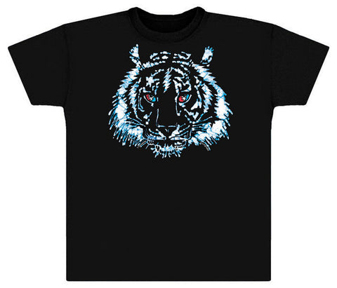 Tiger Bolt black vintage T-shirt