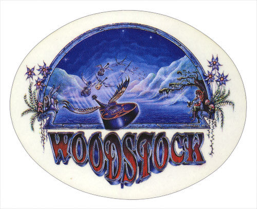 Woodstock Nights decal