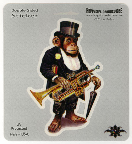 Posh Chimp decal
