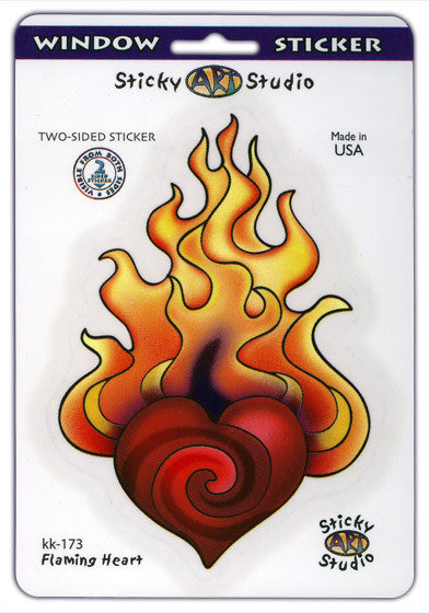Hearts Afire decal