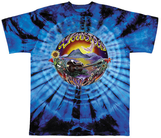 Woodstock Nation tie-dye T-shirt