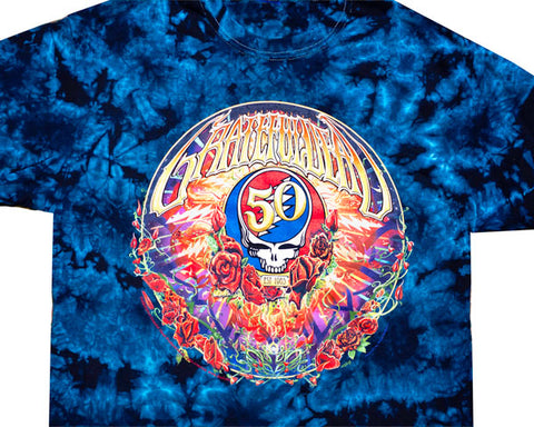 50th Anniversary tie-dye T-shirt