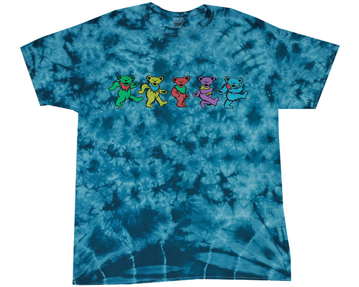 Dancing Bears tie-dye T-shirt