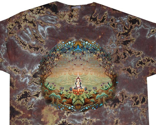 Enlightenment II tie-dye T-shirt