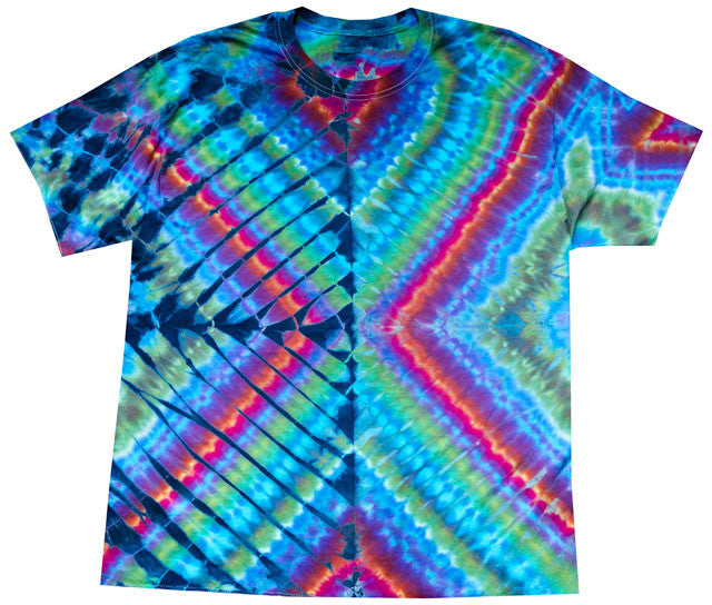 Double Diamond tie-dye T-shirt