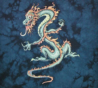 China Blue Dragon youth shirt - YXS