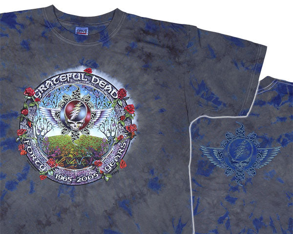 GD 40 Years tie-dye T-shirt