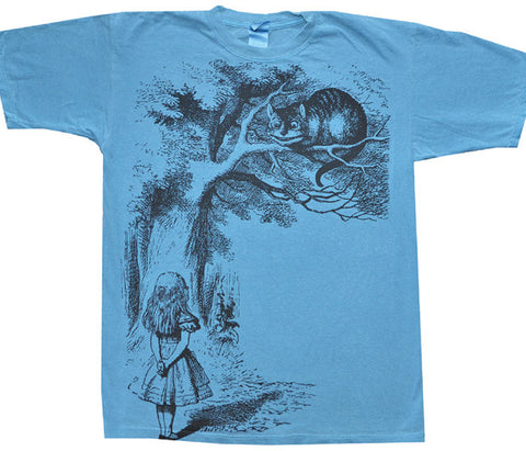 Alice And Cat blue T-shirt