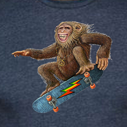 Skate Monkey solid T-shirt