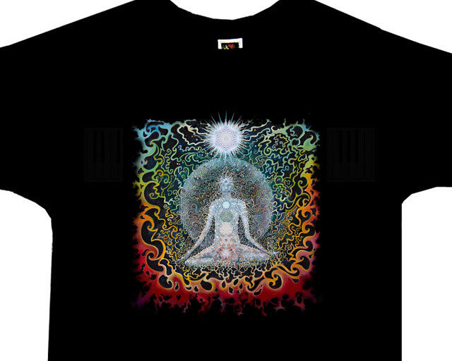 Meditation black T-shirt