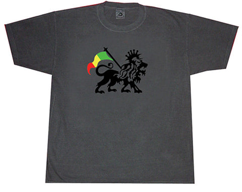 Lion Of Judah pigment dye T-shirt