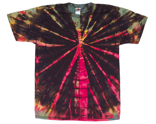 Stained Glass tie-dye T-shirt