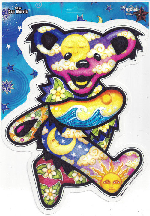 Giant Night & Day Bear jumbo decal