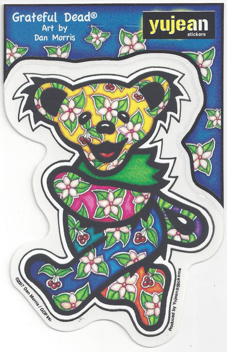 Tropical Bear decal