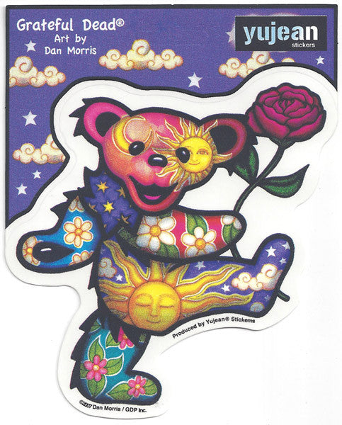 Rose Bear decal