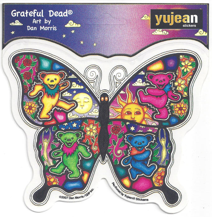 Dancing Butterfly decal