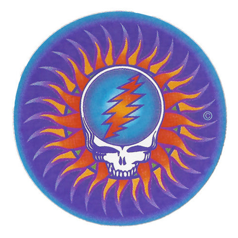 Steal Your Face Sun sticker