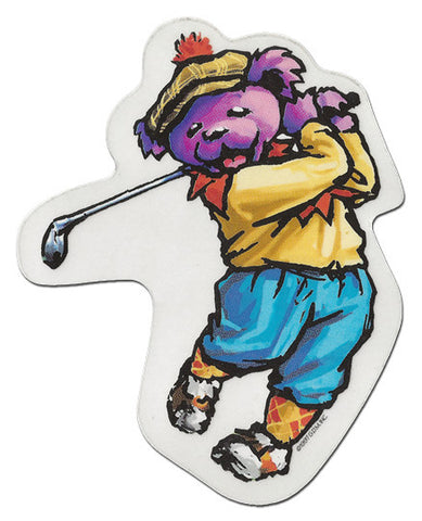 Sports Bear - Golf die-cut decal