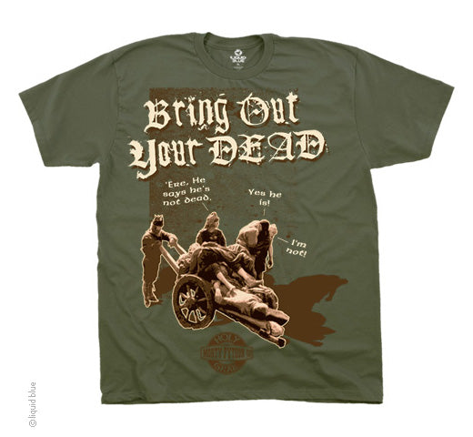 Bring Out Your Dead olive T-shirt - XXL