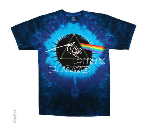 40th Concentric tie-dye T-shirt