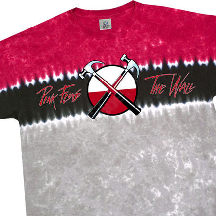 Hammer Cross Logo tie-dye T-shirt