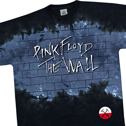 Another Brick In The Wall tie-dye T-shirt