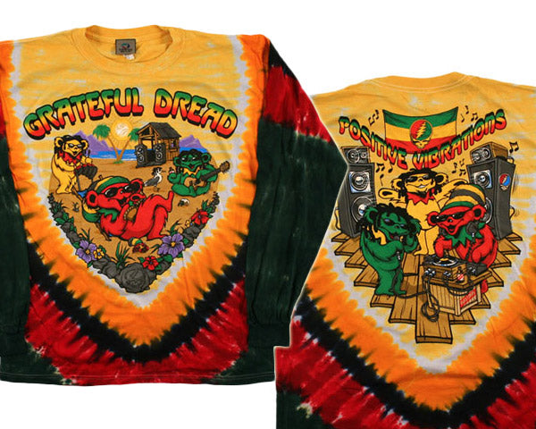 Positive Vibrations long sleeve shirt